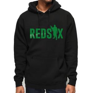REDSIX Mens Hoodie (Army Green Motif)